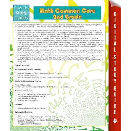 Math Common Core 2nd Grade (Speedy Study Guide) - eBook