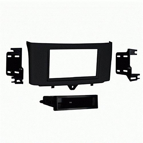 Metra 99-8720B Single DIN with Pocket for 2011-Up Smart ForTwo (Black)