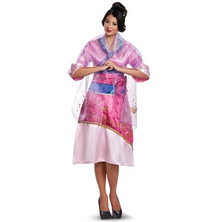 Women's Mulan Deluxe Costume - Mulan Halloween