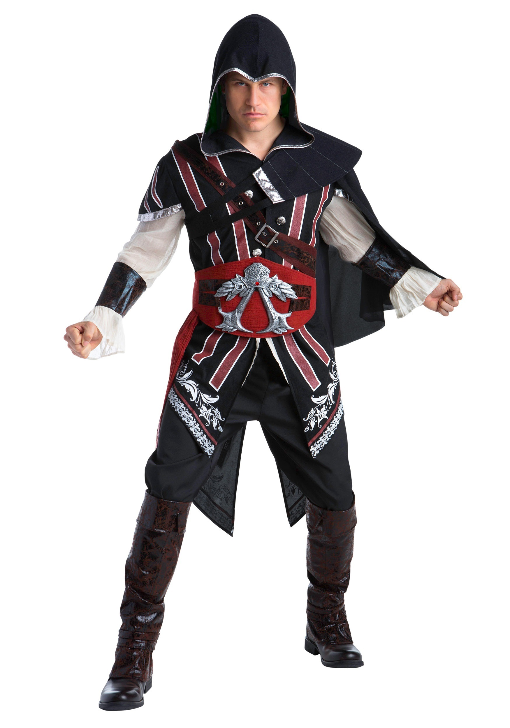 Assassins Creed Ezio Deluxe Adult Costume Walmart Com Walmart Com
