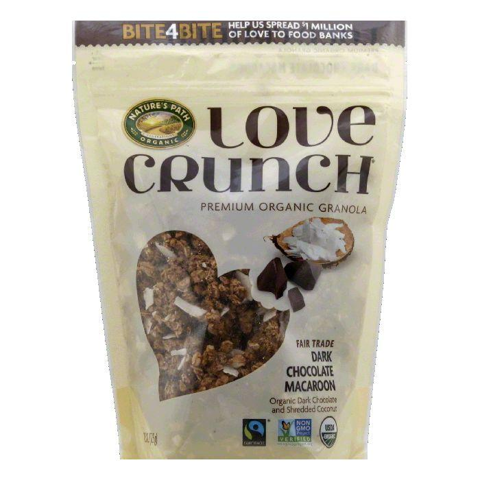 Natures Path Fair Trade Dark Chocolate Macaroon Organic Granola, 11.5 OZ (Pack of 6)