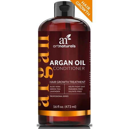 Oil Free Treatment - Argan Oil Regrowth Condtioner 16oz-Hair Growth Treatment Fights DHT Sulfate Free