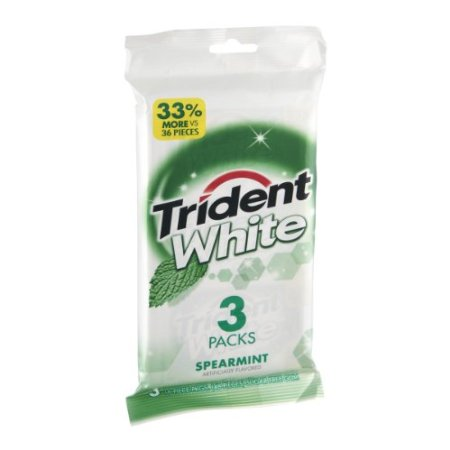 Trident Systems 20 PACKS : Trident White Spearmint Sugar ...