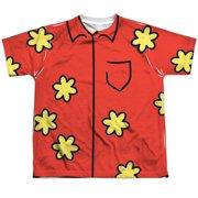 Family Guy - Quagmire Costume - Youth Short Sleeve Shirt - Medium