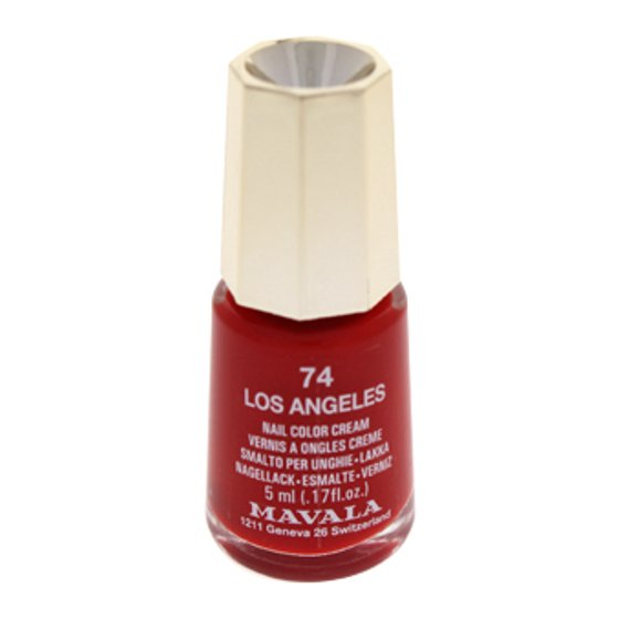 Nail Lacquer # 74 - Los Angeles Mavala 0.17 oz Nail Polish For Women ...