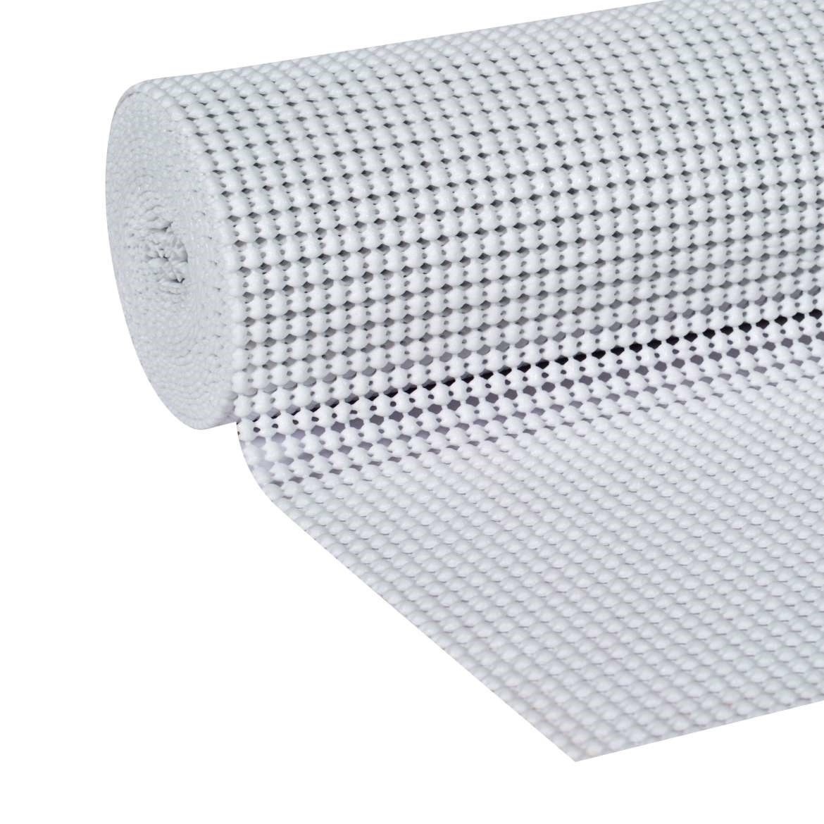 Duck Select Grip 12 In. x 10 Ft. Shelf Liner, White