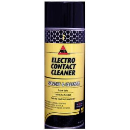 11 OZ Aerosol Electro Cleaner CFC Free Electro Contact Cleaner Only One 11 OZ Aerosol; Electro Cleaner; CFC Free Electro Contact Cleaner; May Be Sprayed Into Operating Equipment; Leaves No Residue; Will Not Harm Electrical Insulation and Metals; Ozone Safe. 11 OZ Aerosol Electro Cleaner CFC Free Electro Contact Cleaner