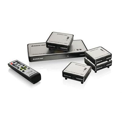 Iogear Long Range Wireless 5x2 HDMI Matrix PRO with 3 Additional Receivers by IOGEAR