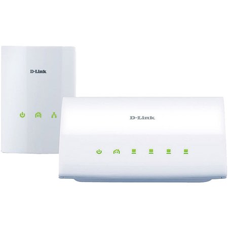 D-Link Systems PowerLine AV 4-Port Switch Starter Kit (DHP-347AV)