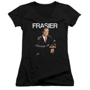 Cheers Frasier Juniors V-Neck Shirt