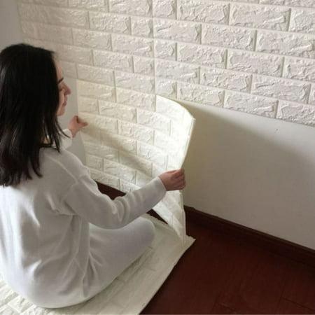 Wallpapers Halloween 3d Gratis (3D Brick Pattern Wallpaper Bedroom Living Room Modern Wall Background TV)