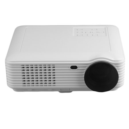 Black White 3D 1080P Projector Home Theater Cinema Led Lcd Hdmi Vga Av Tv 3500 Ansi Lumens Portable