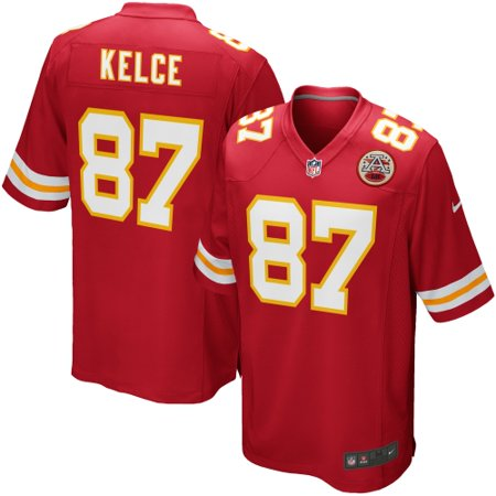Travis Kelce Kansas City Chiefs Nike Team Game Jersey - Red