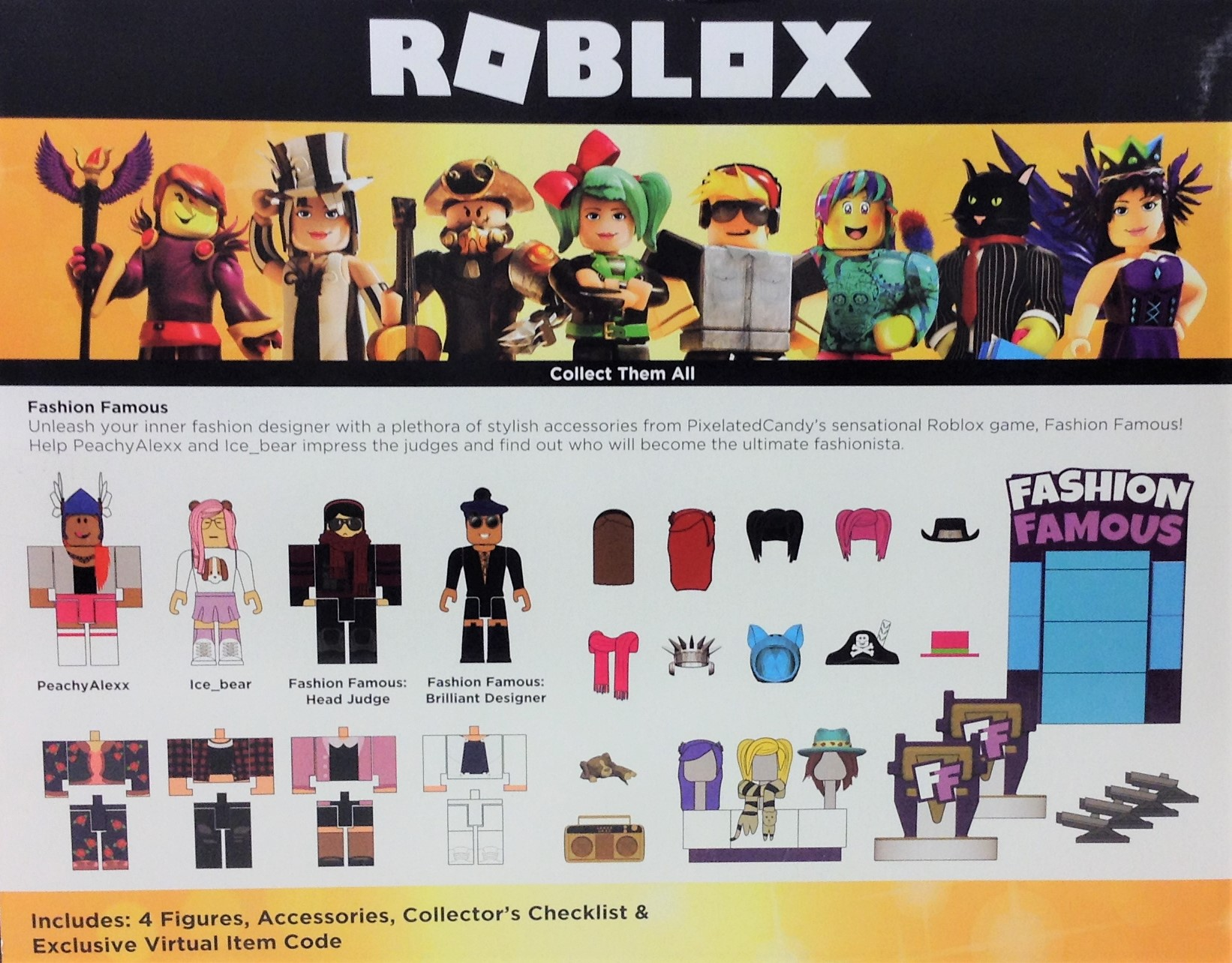 Roblox Celebrity Fashion Famous Feature Playset