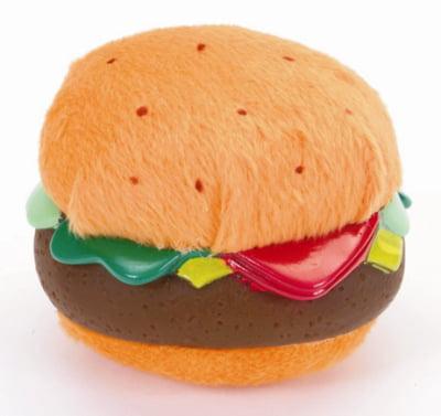"Li'l Pals 3.5"" Plush/Vinyl Burger"