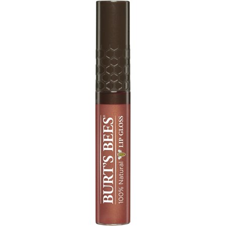 Burts Bees 100  Natural Moisturizing Lip Gloss  Harvest Time  1 Tube With Wand Applicator