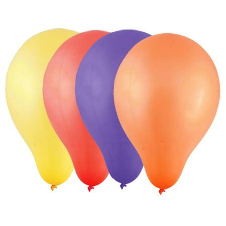 Birthday Party Ornament Latex Balloon Yellow 100 Pcs - image 1 of 1