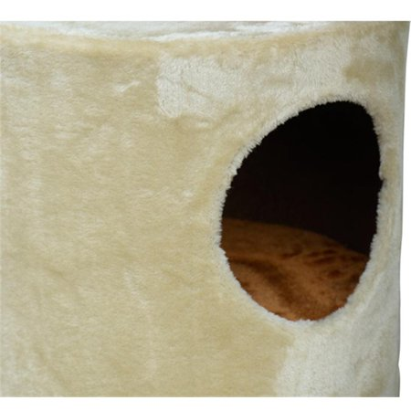 "55"" Cat Tree Condo Scratching Post Furniture Scratcher House - image 6 de 7"