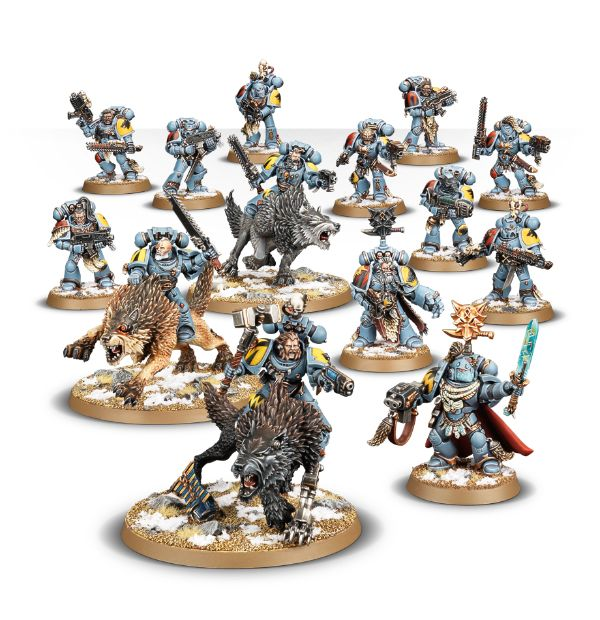 Warhammer 40k Start Collecting: Space Wolves (8th edition) by Games Workshop