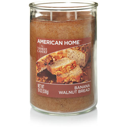 American Home by Yankee Candle Banana Walnut Bread, 19 oz Large 2-Wick Tumbler