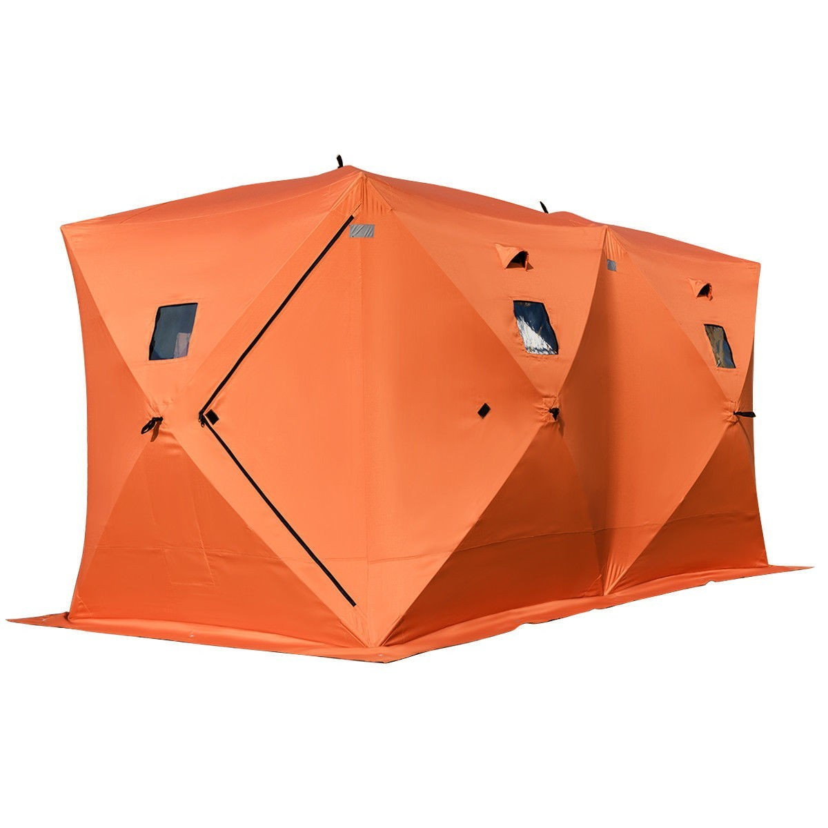 Waterproof Pop-up 8-person Ice Shelter Fishing Tent Outdoor by