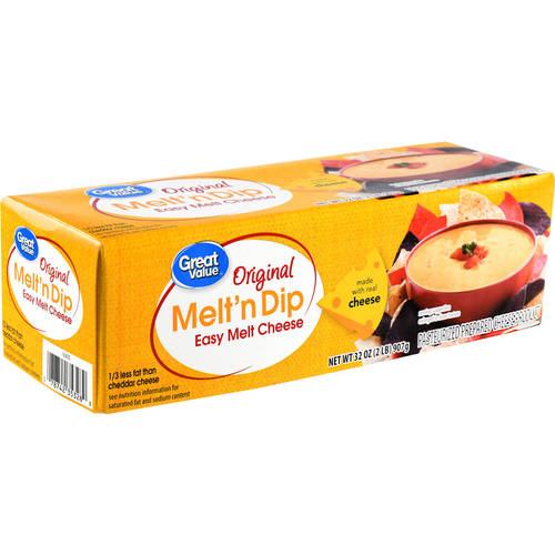 Great Value Easy Melt Cheese, 32 oz