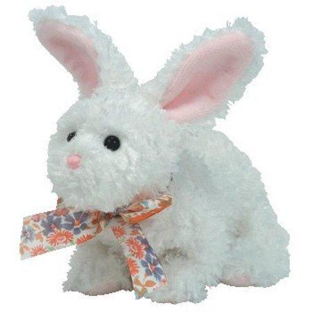 Ty Beanie Babies Nibble   White Rabbit
