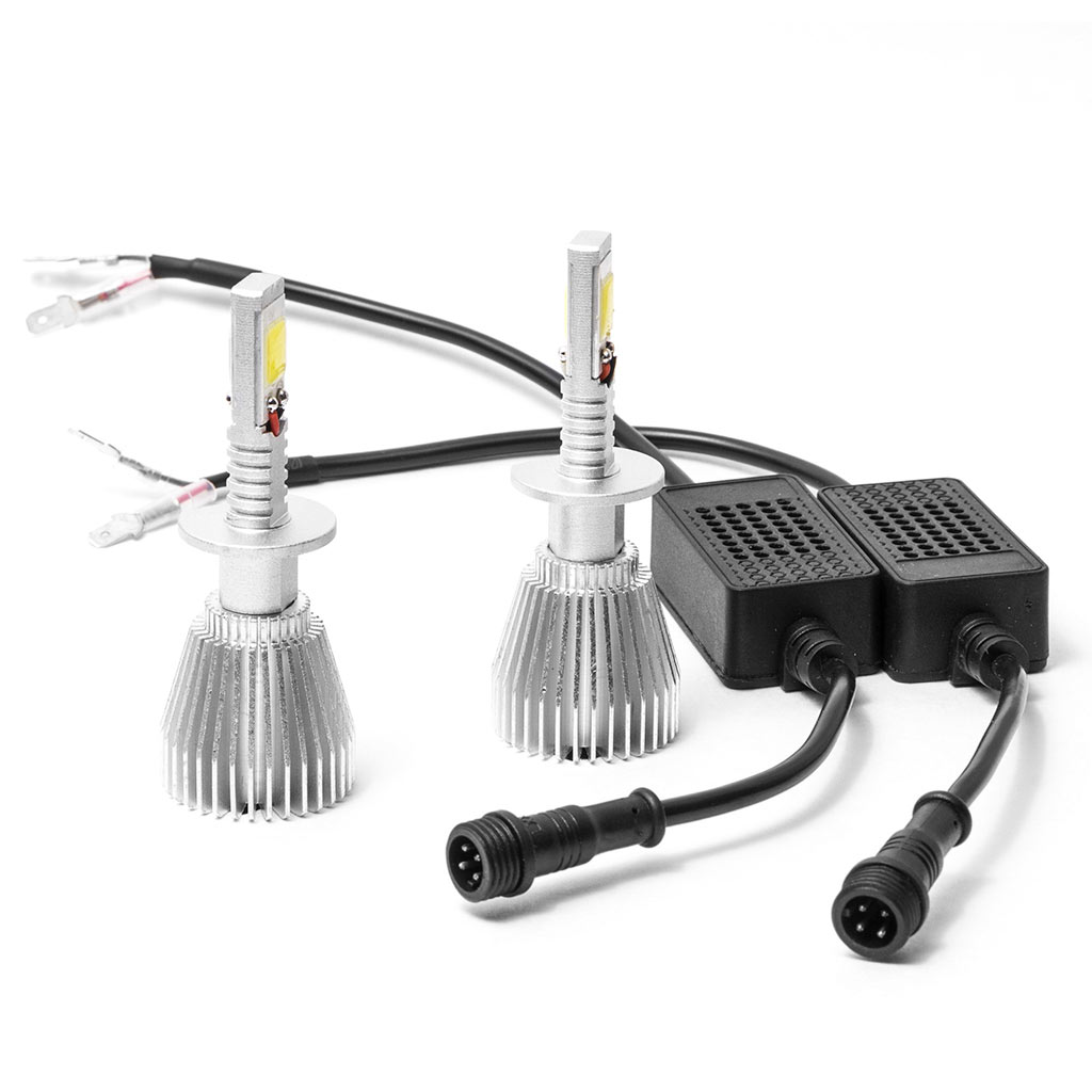 Biltek LED Low Beam Conversion Bulbs for 2009-2009 Ducati Multistrada 1100 (H1 Bulbs) - image 3 de 3