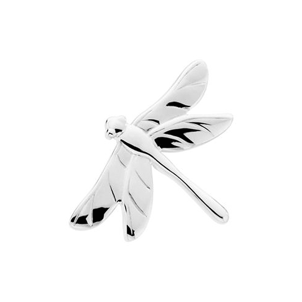 925 Sterling Silver Dragonfly Pin Brooch by