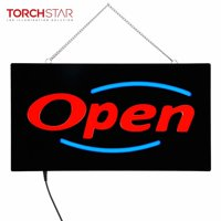 LED Neon Open Sign for Bar, Business OPEN Sign with ON/OFF Switch