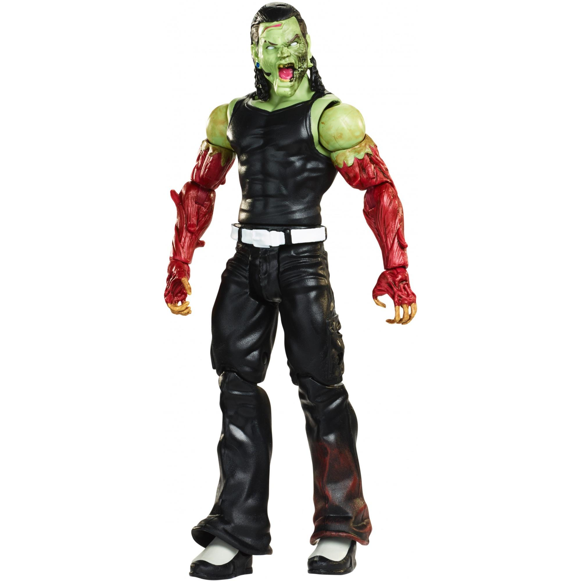 WWE Zombie Superstars Jeff Hardy Action Figure with Unique Detailing