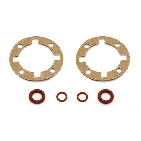 Hobby Associated Electrics Asc9831 Sc10 Gear Diff O-Ring Set Replacement Parts