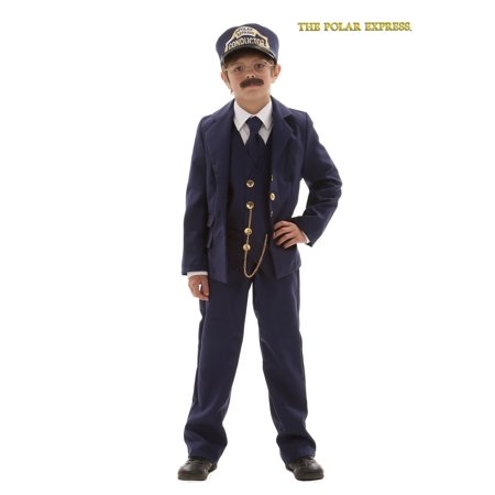 Child Polar Express Conductor Costume](Costume Express Kids)
