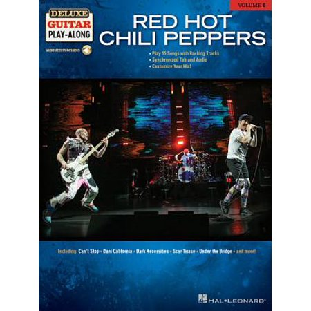 Red Hot Chili Peppers : Deluxe Guitar Play-Along Volume