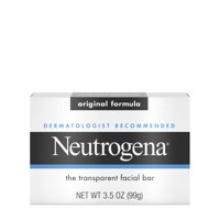 Neutrogena Facial Cleansing Bar Facial Cleanser, All Skin Types, 3.5 oz