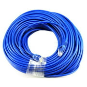 BLUE Gold Plated 50FT CAT5 CAT5e RJ45 PATCH ETHERNET NETWORK CABLE 50 FT For PC, Mac, Laptop, PS2, P