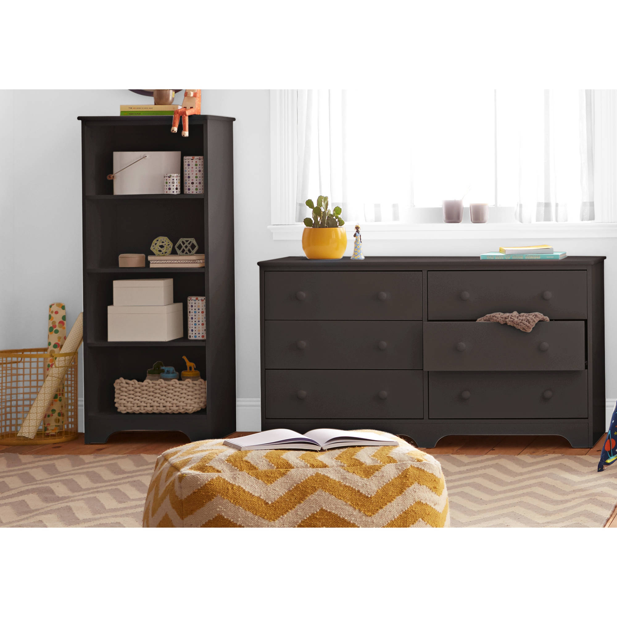 Better Homes and Gardens Kids Pine Creek Bookcase, Espresso by Generic