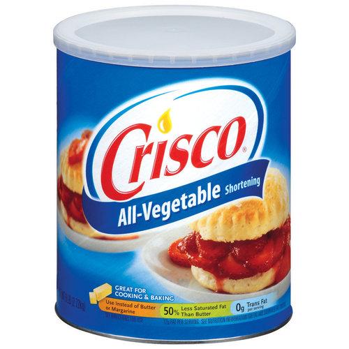 Crisco All Vegetable Shortening, 6 lb