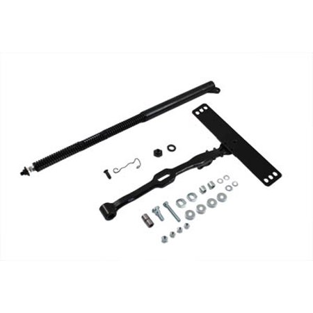 Replica Seat (Black Replica Seat Post and T Kit,for Harley Davidson,by V-Twin)