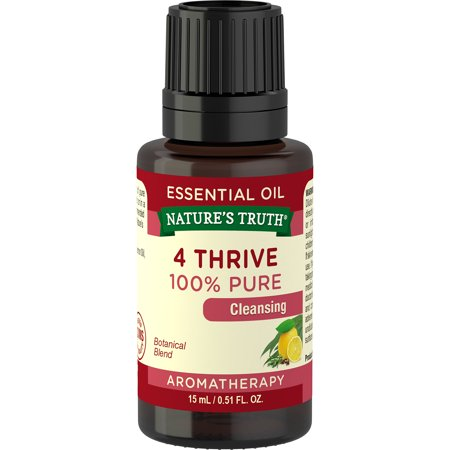 Nature's Truth Aromatherapy 4 Thrive Essential Oil Blend, 0.51 Fl