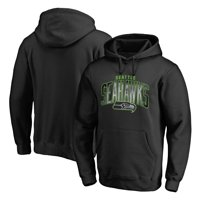 Seattle Seahawks NFL Pro Line by Fanatics Branded Arch Smoke Pullover Hoodie - Black