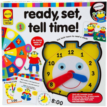 ALEX Toys Early Learning Ready, Set, Tell Time