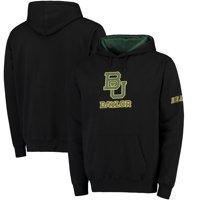 Baylor Bears Stadium Athletic Big Logo Pullover Hoodie - Black
