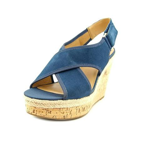 Franco Sarto Womens Taylor Peep Toe Special Occasion Platform Sandals (Chuck Taylors Colors)