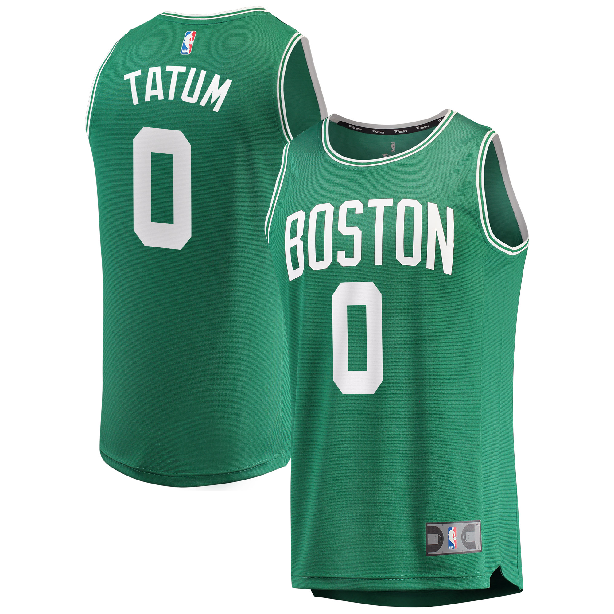 finest selection 07e32 cd4bc Jayson Tatum Boston Celtics Fanatics Branded Youth Fast Break Replica  Jersey Green - Icon Edition