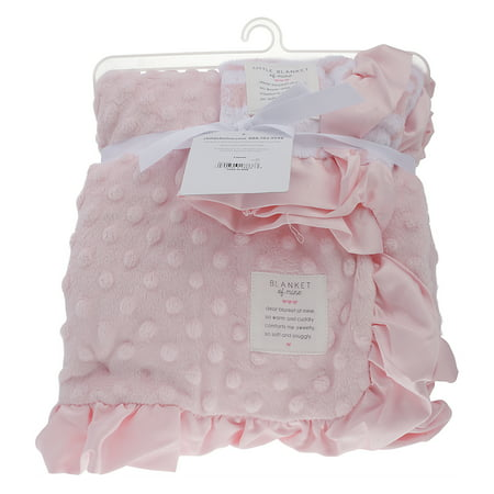Child of Mine Baby Blanket Set, Pink 2 piece
