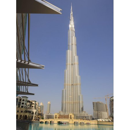 Burj Khalifa, Formerly the Burj Dubai, the Tallest Tower in the World at 818M Print Wall Art By Amanda