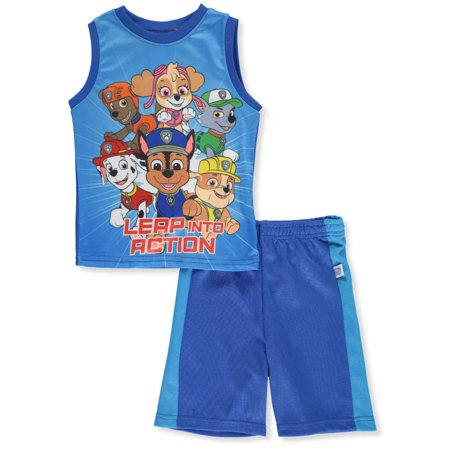 Paw Patrol Boys' 2-Piece Shorts Set Outfit