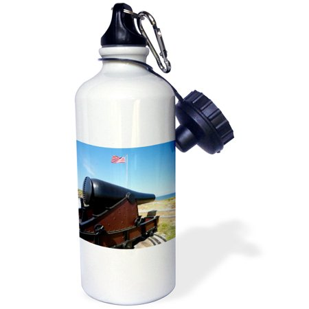 3dRose Fort Massachusetts, Civil War site, Mississippi - US25 FVI0019 - Franklin Viola, Sports Water Bottle, 21oz