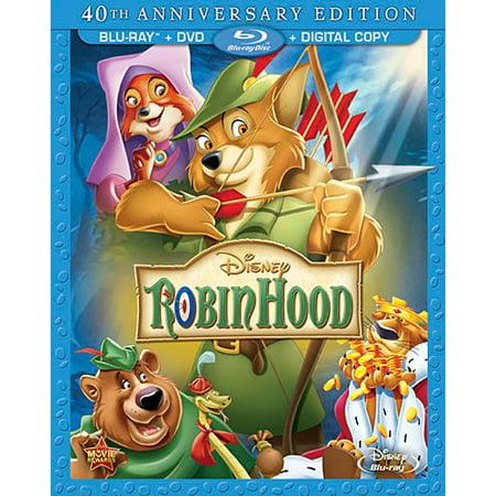 Robin Hood (40th Anniversary Edition) (Blu-ray + DVD + Digital - Robin Hood Disney Costume